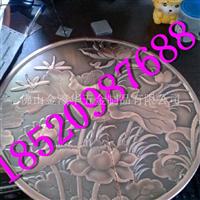艺术时尚红古铜铝板雕刻大门拉手
