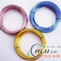 彩色铝线,订做非标铝线
