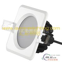 方形LED筒灯 防水LED天花灯