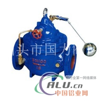 100x遥控浮球阀的连接尺寸