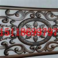 红古铜铝板立体雕刻镜框装饰扣条
