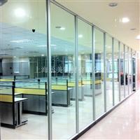 供应新款钢化玻璃隔断墙型材