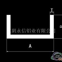 槽铝工字角铝工业铝型材