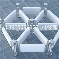 三角形铝格栅尺寸结构 图片