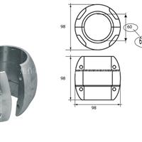 錨鏈條專用鋁鋅合金犧牲陽極