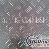 花纹铝板 小五条筋防滑铝板