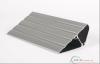 Blank pressing aluminium profile, electrophoretic painted aluminum profiles, nature color.