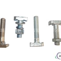 供应T型螺栓槽式预埋件不锈钢t型槽用螺栓
