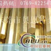 H68六角黄铜棒价格