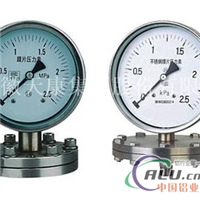 铝化工Y-100BFZMF隔膜压力表