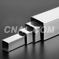 6063氧化铝方管现货  40X40X2mm