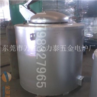 350KG坩埚熔铝炉