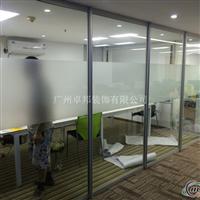 双层玻璃百叶隔断,办公玻璃隔墙