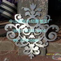 不锈钢板雕花水切割加工