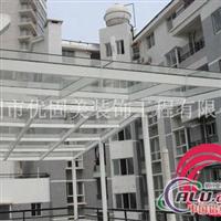 深圳高檔鋼結構玻璃雨棚廠家