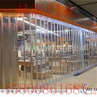 供应折叠水晶门商场弧形折叠门