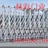 供应铝合金电动门铝合金伸缩门