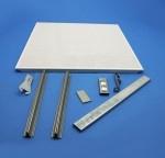 直排冲孔铝方板,铝天花扣板规格
