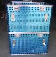 徐州冷冻盒鱼肉冷冻盘水产周转箱