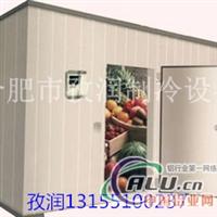 标准铝排小型蔬果冷库改造