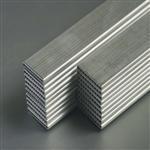 进口环保6061铝排、6063氧化铝排