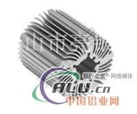 灯饰铝型材散热器加工定制