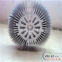 6063太阳花散热器铝型材