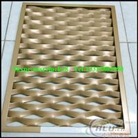 供应喷塑铝板网做装饰铝板网