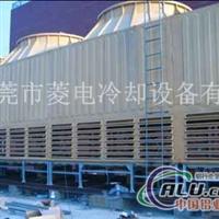 飞扬菱电1800吨旧逆流冷却塔翻新