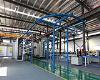 aluminum profile automatic electrostatic powder system