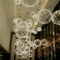 圓球LED吊燈 酒店大堂煙火花吊燈