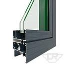 GRC55系列隔热注胶内平开窗