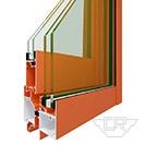 GR81D系列隔热注胶单推拉窗