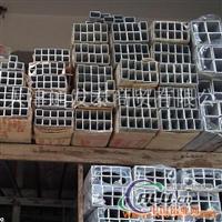 氧化6063大口径铝方管现货销售