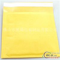 黃色牛皮紙氣泡袋定做廠家