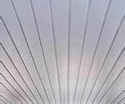 防风铝条扣厂家中石化加油站防风条扣