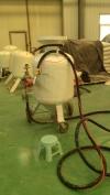 碳化物整理公用喷砂机