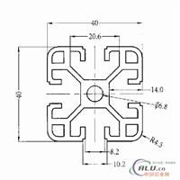 4040C工业铝型材