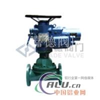 G941J(衬胶)电动隔膜阀