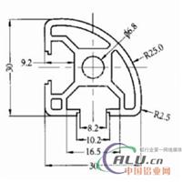 3030R工业铝型材