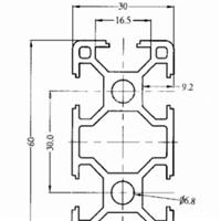 3060工业铝型材