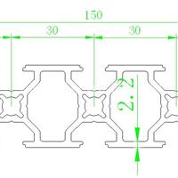 30150工业铝型材