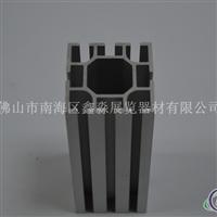 氧化磨砂六分八槽方柱生产