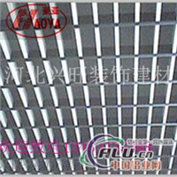 铝格栅的尺寸 铝格栅参数规格