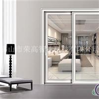 铝合金钢化玻璃门水晶腰线玻璃