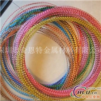 氧化彩色铝线 6061铝线价格