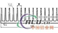 生产加工铝型材,散热器铝型材,