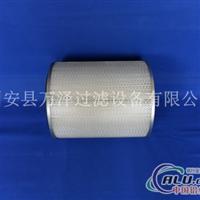 供應萬澤牌耐高溫阻燃工業橢圓除塵濾芯濾筒