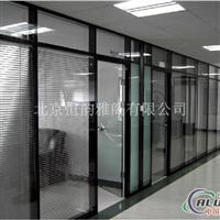 铝合金玻璃百叶隔墙