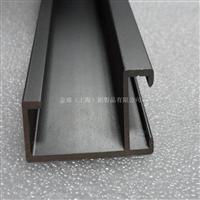 定制直角角铝型材 表面氧化喷绘